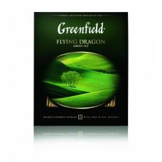 Чай зеленый в пакетиках для чашки Greenfield Flying Dragon (Гринфилд Флаинг Драгон), 100*2 г