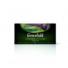 Чай зеленый в пакетиках для чашки Greenfield Japanese Sencha (Гринфилд Джапаниз Сенча), 25*2 г