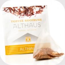 Чай травяной в пирамидках Althaus Toffee Rooibush (Альтхаус Тоффи Ройбуш), 15*2,75 г