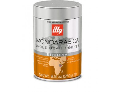 Кофе в зернах ILLY Etphiopia (Илли Эфиопия), 250 г