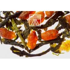 Чай зеленый весовой Althaus Genmacha Raisu (Альтхаус Генмайча Райсу), 100 г.