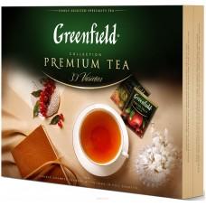 Набор чая и чайных напитков в пакетиках для чашки 30 видов (120 штук) Greenfield Collection