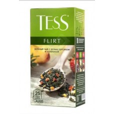 Чай зеленый в пакетиках для чашки Tess Flirt (Тесс Флирт), 25*1,5 г