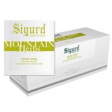 Чай травяной в пакетиках для чашки Sigurd Mountain Herbs (Сигурд Горные Травы), 30шт.*2г.